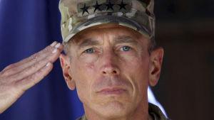 Den amerikanska generalen David Petraeus.