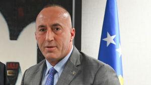 Kosovos före detta premiärminister Ramush Haradinaj.