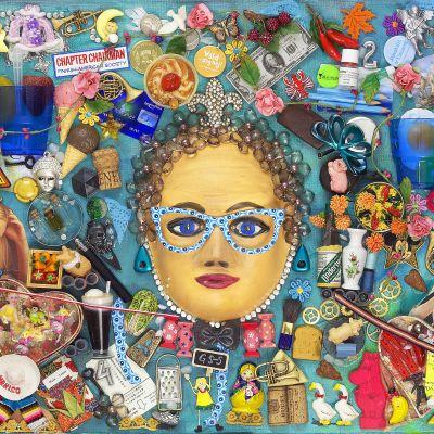 En tavla ur serien Kvinnan i konsten.