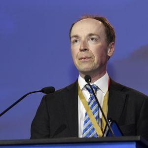 Sannfinländarnas nye ordförande Jussi Halla-aho vill bli utrikesminister.