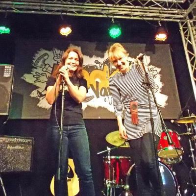 Anna Kangas och Katja Tolonen