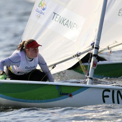 Tuula Tenkanen är ett finländskt medaljhopp i Rio.