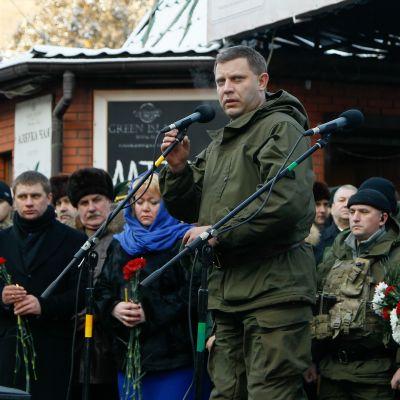 Aleksander Zahartsjenko, ledaren för den självutropade folkrepubliken Donetsk hann leda den proryska i fyra år till fram till sin död