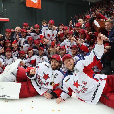 TsSKA on KHL-mestari vuosimallia 2018-19