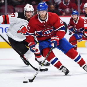 Joel Armia gör en bra säsong i Montreal Canadiens.