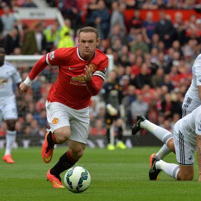 Wayne Rooney gjorde mål