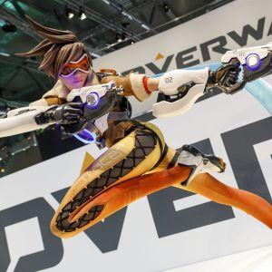 Tracer-hahmo Overwatch-pelistä