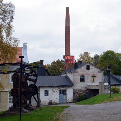 Billnäs bruk i Raseborg.