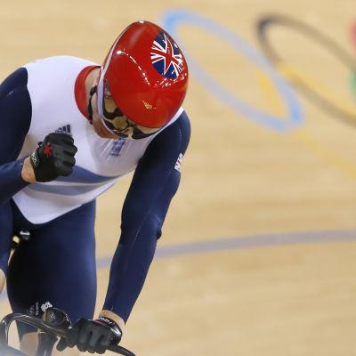 Bancyklisten Chris Hoy har vunnit sex OS-guld och ett OS-silver.
