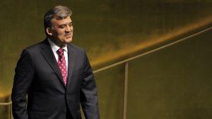 Turkiets president Abdullah Gül