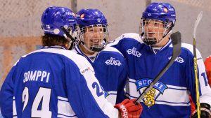 Finlands U18-landslag i ishockey siktar på framgång i VM i USA.