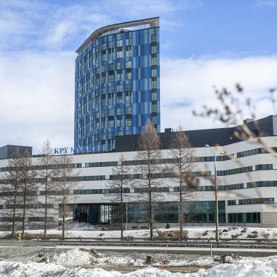 KPY Novapoliksen uusi tornirakennus Kuopiossa