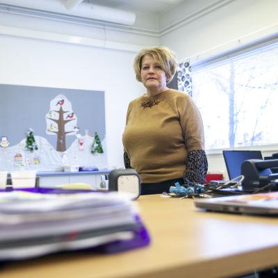Merja Laininen, Alavan sairaalakoulun rehtori