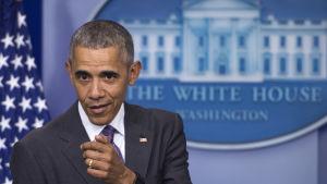 Barack Obama i Vita huset