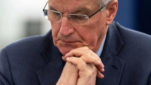 EU:s chefsförhandlare Michel Barnier