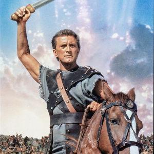 Kirk Douglas elokuvassa Spartacus