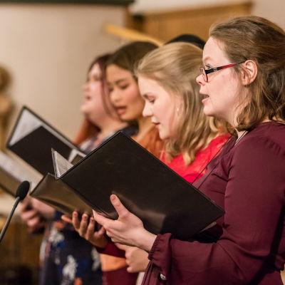 Gospelkuoro Spring of Joyn laulajia