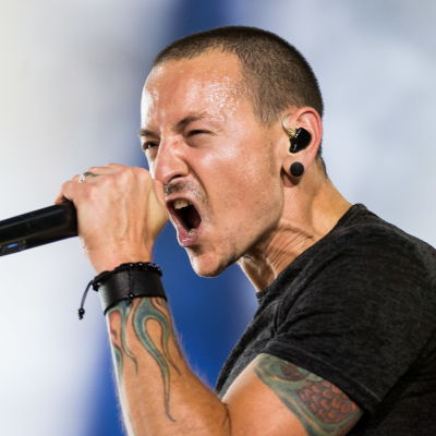 Linkin Parks sångare Chester Bennington.
