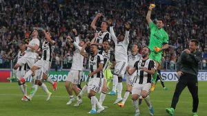 Juventus firar sin finaplats.