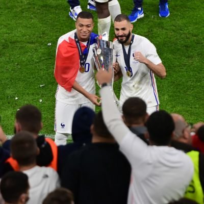 Frankrike vann Nations League i fotboll.