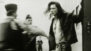 Antti Reini nuorisorikollisena elokuvassa Il Capitano (1991).