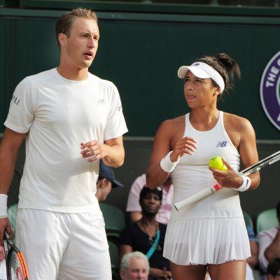Henri Kontinen och Heather Watson är tennisproffs.