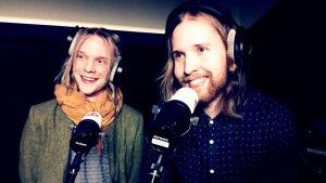 NEØVin Anssi ja Samuli Neuvonen YleX:n haastattelussa Eurosonicissa