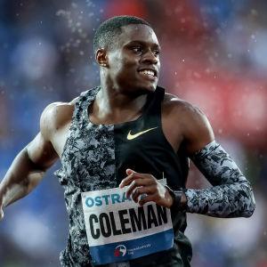 Christian Coleman.