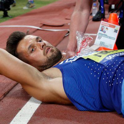 Magnus Kirt, MM-keihäsfinaali 2019 Doha