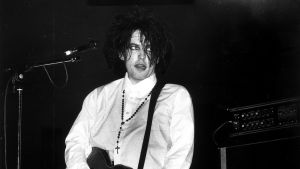 Robert Smith live i Berlin, 1987.