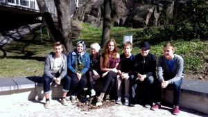Elever vid Alphyddans högstadium