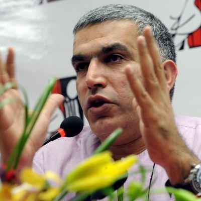 Bahrainin korkein oikeus katsoi protestijohtaja Nabeel Rajabin syyllistyneen muun muassa sisäministeriön loukkaamiseen.