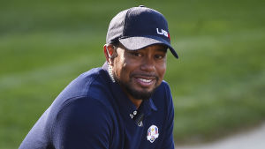 Tiger Woods var en av de amerikanska lagkaptenerna i höstens Ryder Cup.