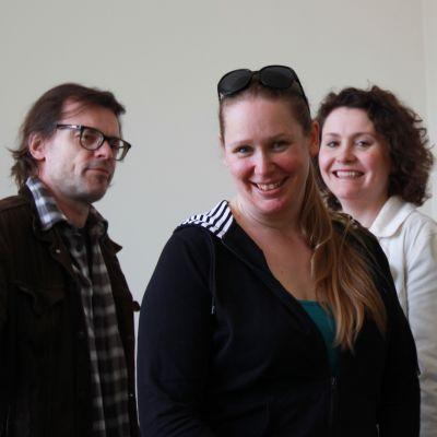 Niklas Häggblom, Åsa Nybo, Anja Bargum och Max Bremer