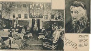 Interiör från Villa Wahnfried, Richard och Cosima Wagners hem