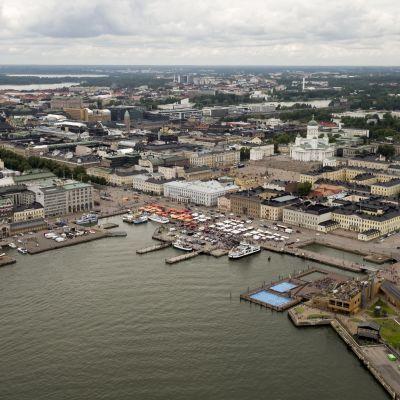 Helsinki ilmakuva kauppator