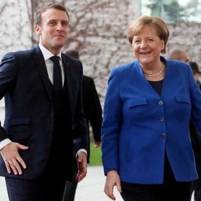 Macron ja Merkel
