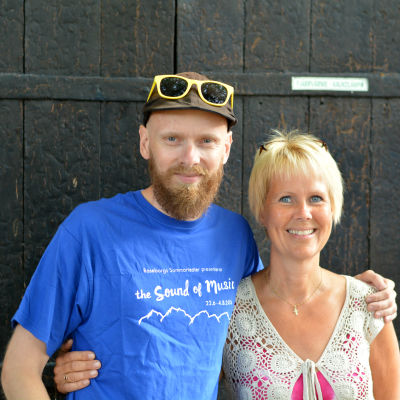 Petri Horttana och Birgitta Udd