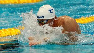Matti Mattsson vann VM-brons för tre år sen. Nu har han tänkt ta en OS-medalj.