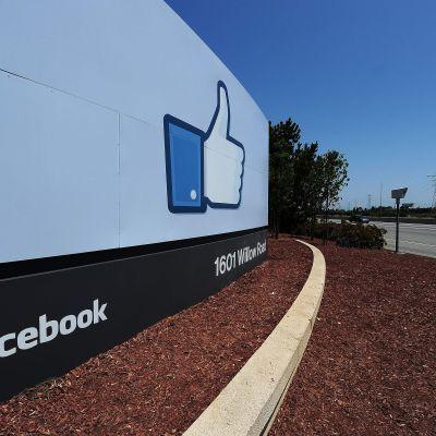 Facebooks huvudkontor i Menlo Park, Kalifornien, USA.