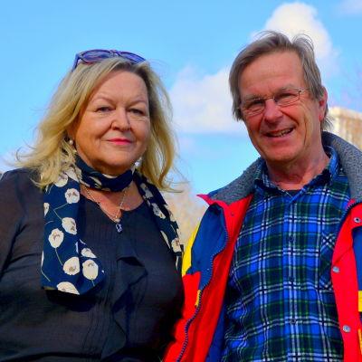 Sonja Rundt och Hans Hästbacka