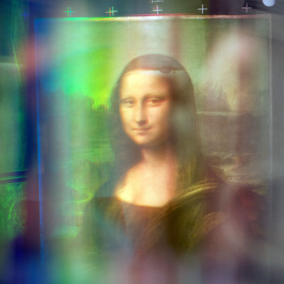 Mona Lisa monispektrikuvattavana