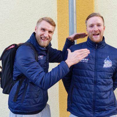 Tuomas ja Joonas Iisalo, Crailsheim Merlins