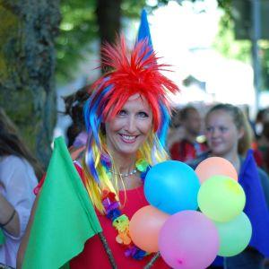 Ingela Högman på Åland Pride