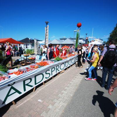 Allmän bild av evenemanget, Tomatkarnevalen