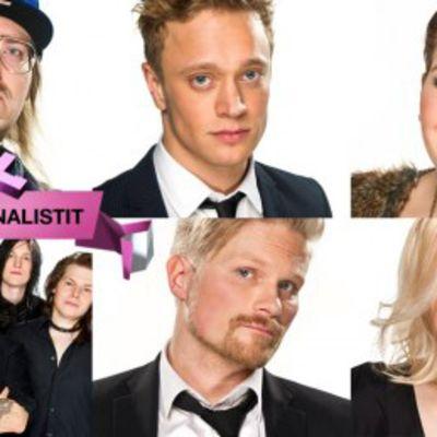 Uuden Musiikin Kilpailun finalistit.