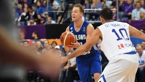 Petteri Koponen basketspelare