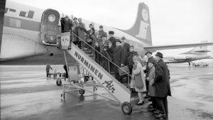 RSO matkalla Englantiin 1968.