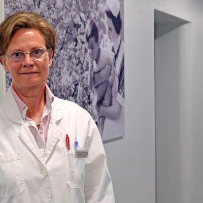 Carina Wallgren-Pettersson, överläkare vid Folkhälsanas Genetiska klinik i Helsingfors.