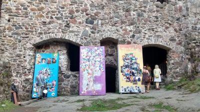 Faces 2014 vid Raseborgs slottsruiner